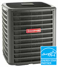 Energy-efficient Goodman air conditioner
