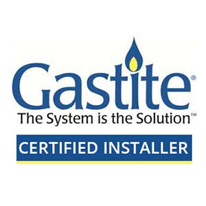 Gastite Certified installer logo