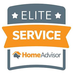 HomeAdvisor Elite Service seal