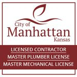 Licensed to do work in Manhattan Kansas