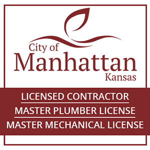 Licensed to do work in Manhattan Kansas