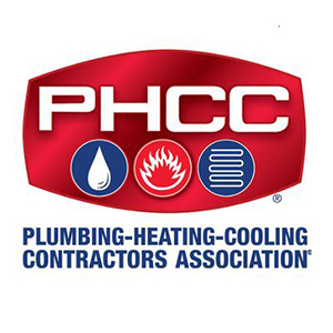 PHCC Plumbing Heating Cooling Contractors Association logo