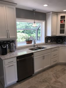 Kitchen remodel with sink, installation by Standard Plumbing, Heating & Air