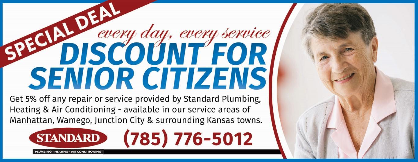 Senior Citizen Discount for furance and ac repair
