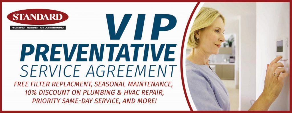 Graphic image of Standard's VIP Maintenance Program