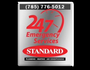 Standard Plumbing Heating & Air Conditioning has 24/7 emergency AC repair service in Manhattan, KS