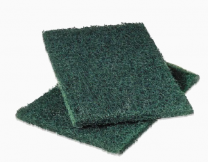 Scotch-Brite™ pad to be used to clean a dirty flame sensor