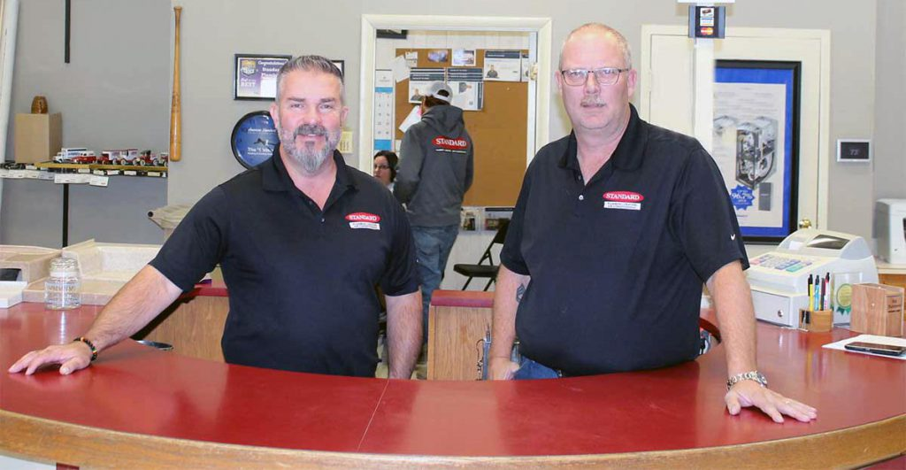 Standard Plumbing Heating Air Conditioning technicians